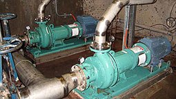 Vaughan chopper pumps solve clogging problems for large New South Wales paper mill