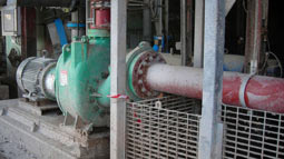 Heavy-duty Vaughan self-priming chopper pump pays off for large Sydney paper mill