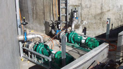 Innovative Rotamix nozzle mixing systems supplied for West Camden WWTP sludge balance tanks