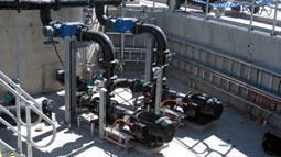 Two Rotamix thickened sludge tank mixing systems supplied to Woodman Point WWTP in Perth