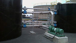 Turnkey solids pumping and mixing package supplied for new waste reception facility