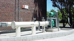 Large Vaughan chopper pumps stand the test of time handling abrasive sludge at Mangere WWTP