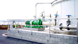 Three Rotamix systems supplied for new sludge blend tanks at Mangere WWTP, Auckland