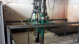 Vaughan vertical wet well chopper pumps tackles diffcult stringy casings application in NZ
