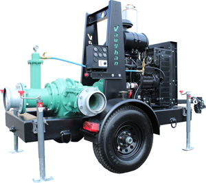Vaughan Co. release new portable engine driven chopper pump