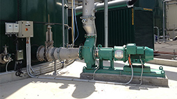 Rotamix nozzle mixing systems installed on new sludge tanks at Tahuna WWTP